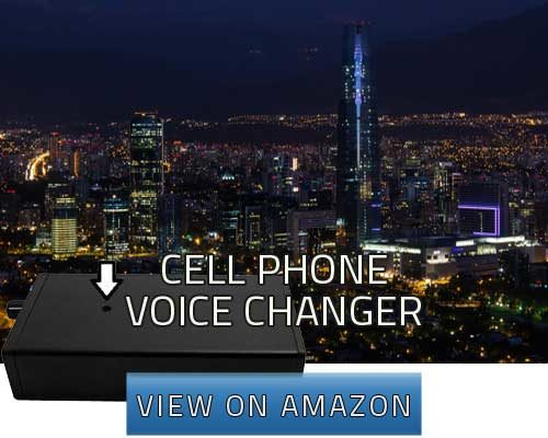 cell phone voice changer