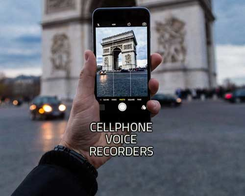 cell phone voice recorders image