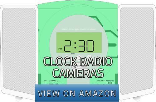 clock radio cameras image