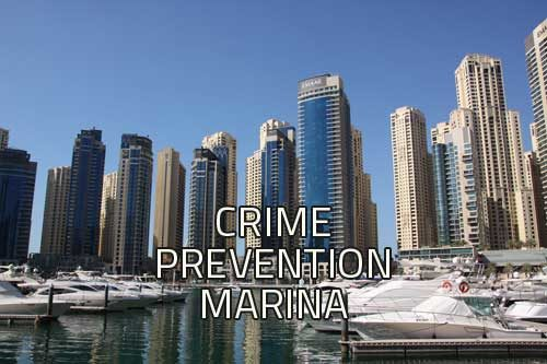 marina - prevent crime image