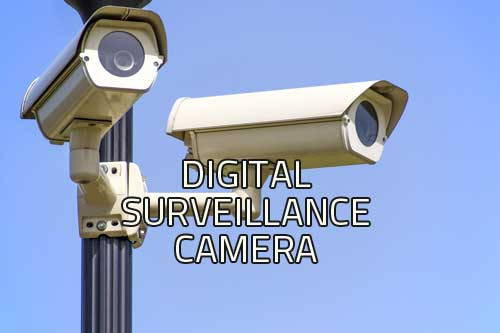 digital surveillance camera image