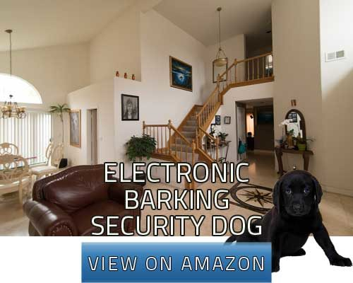 electronic barking security dog