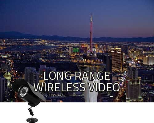 long range wireless video