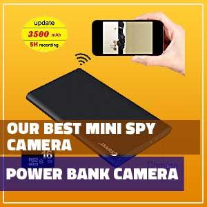 min spy camera wireless live feed