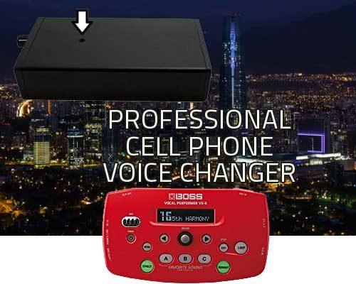 professional cell phone voice changer