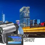 Sony Nightshot with IR Pass Filter for Infrared X Ray Vision: ADXIR Filter