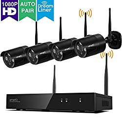 surveillance wireless remote video camera