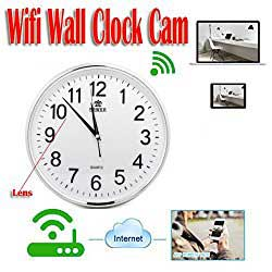 wall clock hidden camera motion activated